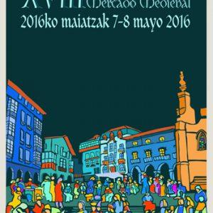 """""""ERRANTES"""" na XVIII Edición do Mercado Medieval de Balmaseda (Bizkaia)"""