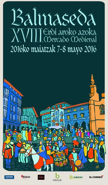 """En este momento estás viendo """"ERRANTES"""" na XVIII Edición do Mercado Medieval de Balmaseda (Bizkaia)"""