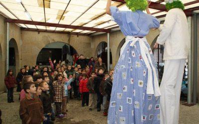 Benito e Rufina cara o Couto Ourense