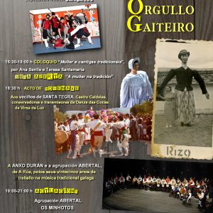 Uxía Lambona no XI do Orgullo Gaiteiro en Ourense
